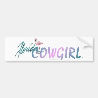 TEE Florida Cowgirl Bumper Stickers