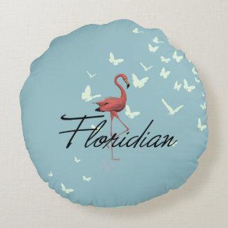 TEE Floridian Round Pillow