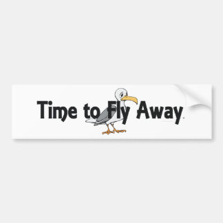 TEE Fly Away Bumper Stickers