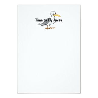 TEE Fly Away Card