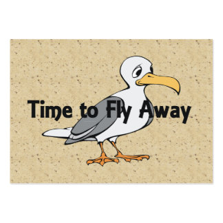 TEE Fly Away Large Business Card