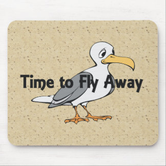 TEE Fly Away Mouse Pad
