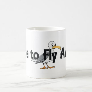 TEE Fly Away Classic White Coffee Mug