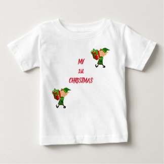 TEE FOR ***BABY'S 1st CHRISTMAS***