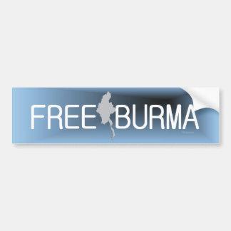 TEE Free Burma Bumper Sticker