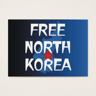 TEE Free North Korea Business Card