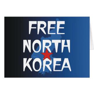TEE Free North Korea Card