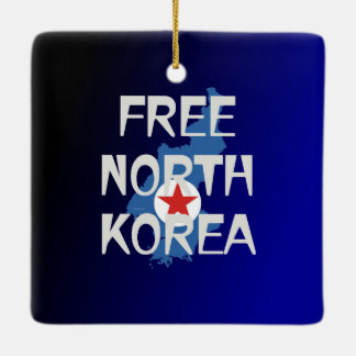 TEE Free North Korea Ceramic Ornament