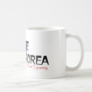 TEE Free North Korea Coffee Mug