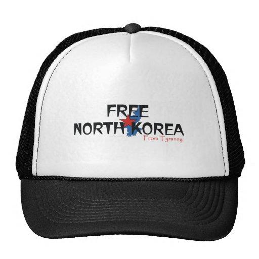 TEE Free North Korea Mesh Hats