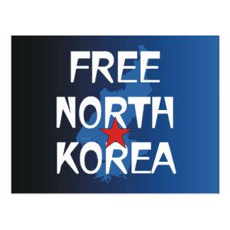 TEE Free North Korea Postcard