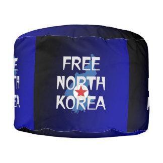 TEE Free North Korea Pouf