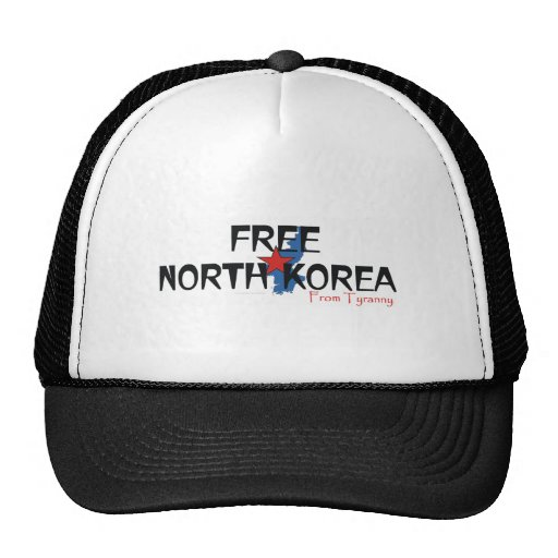 TEE Free North Korea Trucker Hat