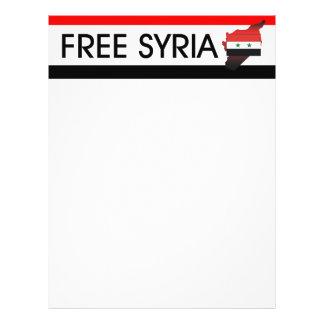 TEE Free Syria Flyer