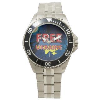 TEE Free Ukraine Wrist Watch