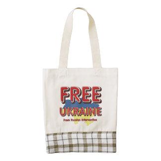 TEE Free Ukraine Zazzle HEART Tote Bag