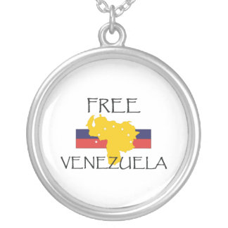 TEE Free Venezuela Silver Plated Necklace