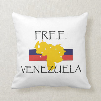TEE Free Venezuela Throw Pillow