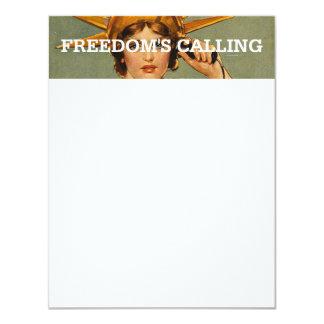 TEE Freedom Calling Card