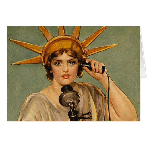 TEE Freedom's Calling Greeting Card
