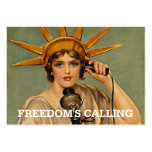 TEE Freedom's Calling Large Business Card