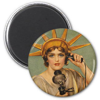 TEE Freedom's Calling Magnet
