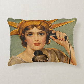 TEE Freedom's Calling Accent Pillow