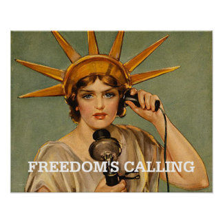 TEE Freedom's Calling Poster