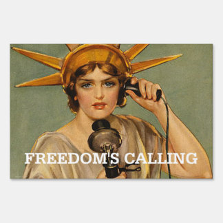 TEE Freedom's Calling Sign