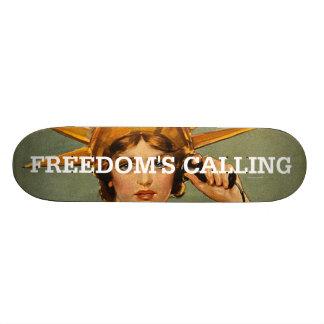 TEE Freedom's Calling Skateboards