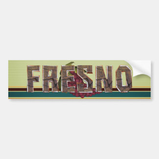 TEE Fresno Bumper Sticker