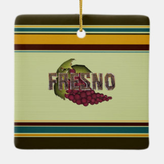 TEE Fresno Ceramic Ornament
