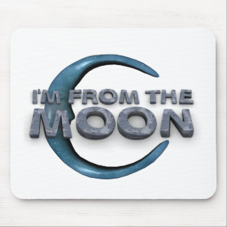 TEE From the Moon Mouse Pad