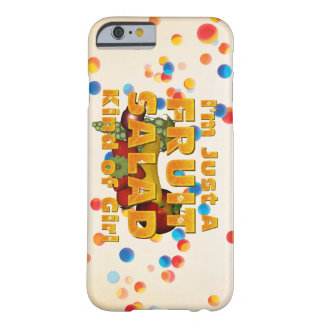TEE Fruit Salad Girl Barely There iPhone 6 Case