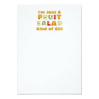 TEE Fruit Salad Girl Card