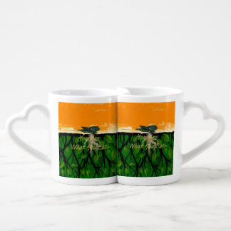 TEE Fun Food Slogan Coffee Mug Set