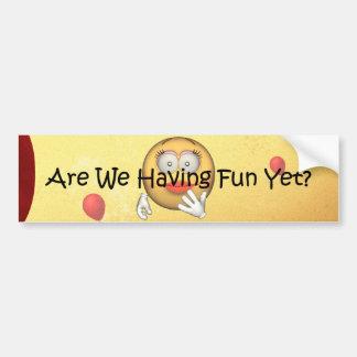 TEE Fun Yet Bumper Sticker