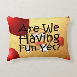 TEE Fun Yet Decorative Pillow