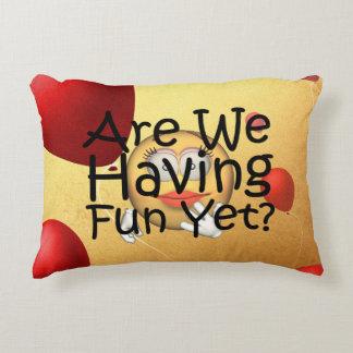 TEE Fun Yet Decorative Pillow