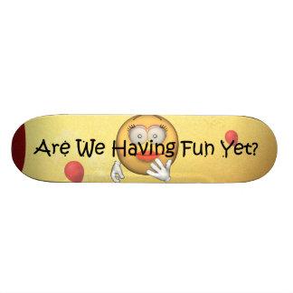 TEE Fun Yet Skateboard Deck