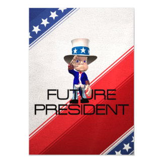 TEE Future President Magnetic Card