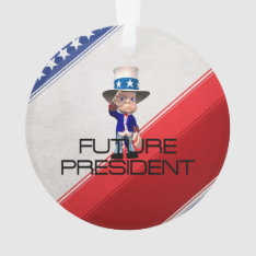 Tee Future President Ornament at Zazzle