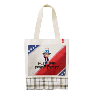 TEE Future President Zazzle HEART Tote Bag
