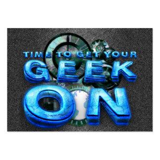 TEE Geek On Business Card