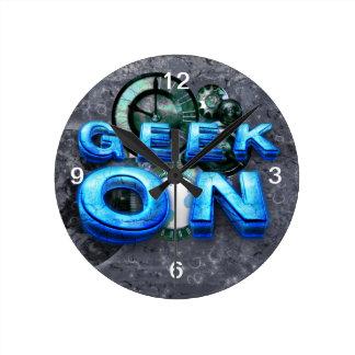 TEE Geek On Wall Clocks