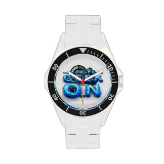 TEE Geek On Wrist Watch