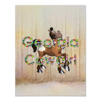 TEE Georgia Cowgirl Card
