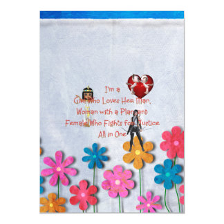 TEE Girl Loves All in One Magnetic Card