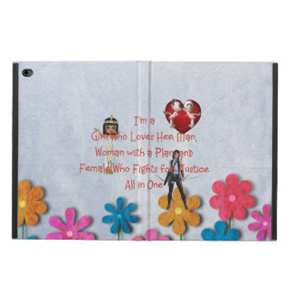 TEE Girl Loves All in One Powis iPad Air 2 Case