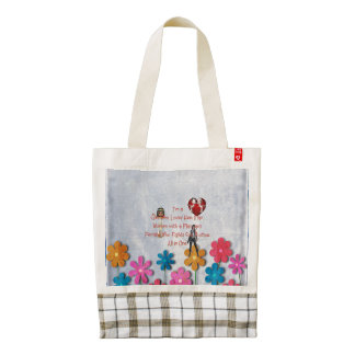 TEE Girl Loves All in One Zazzle HEART Tote Bag
